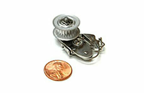 tensioner with penny for size